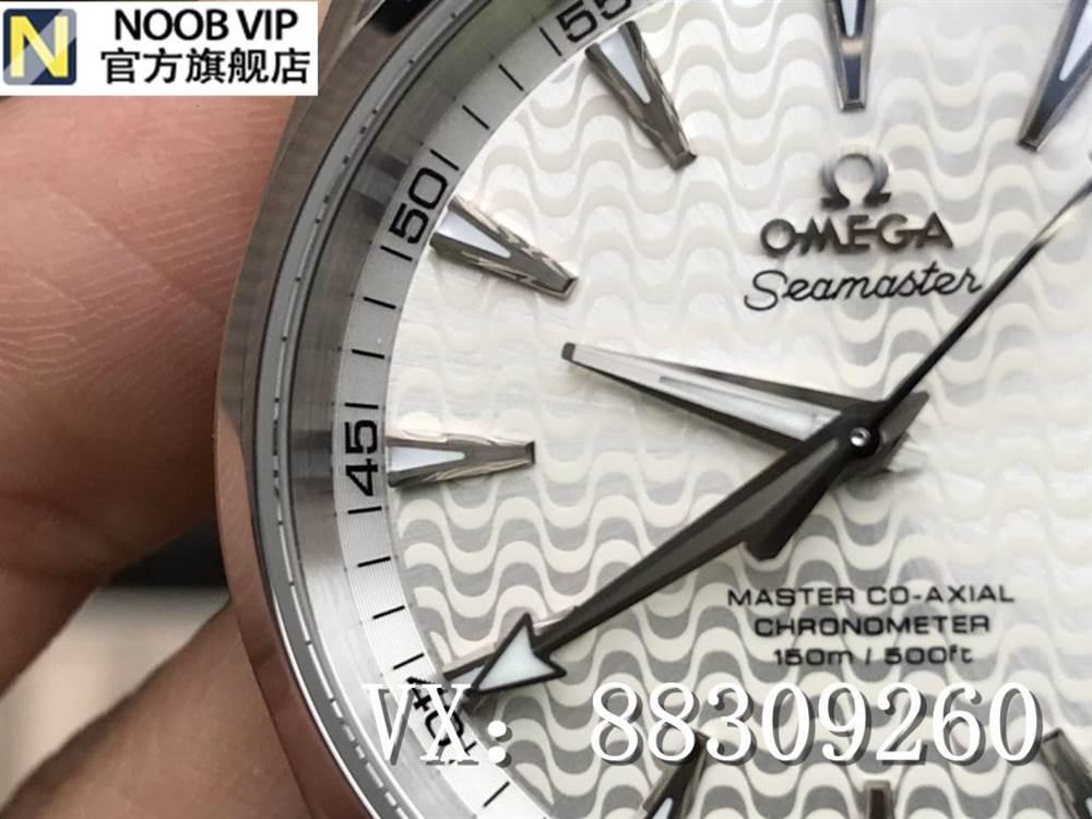 VS厂欧米茄海马150里约奥运会特别版复刻表「白盘8500一体机」评测