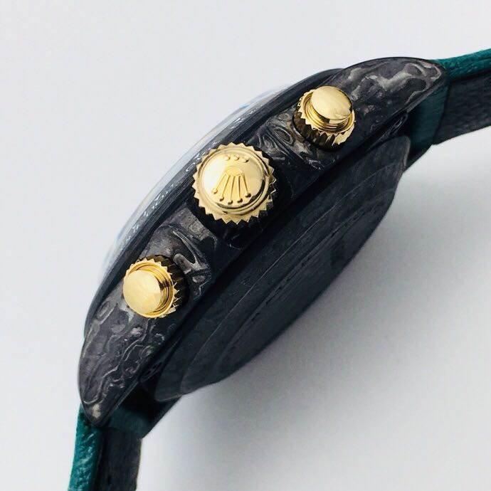 WWF厂劳力士迪通拿碳纤维复刻表评测