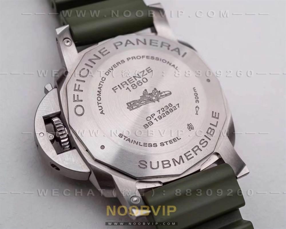 VS厂沛纳海1055绿海魂复刻表评测-第一枚42mm绿盘沛纳海