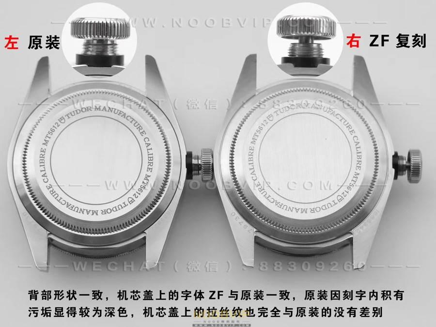 ZF厂帝舵碧湾小钢盾M79730复刻表对比正品深度评测