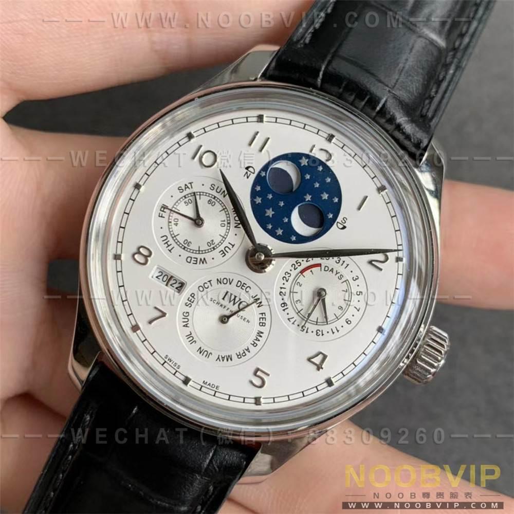 V9厂万国葡萄牙万年历复刻表评测,月相星辰尽在腕间