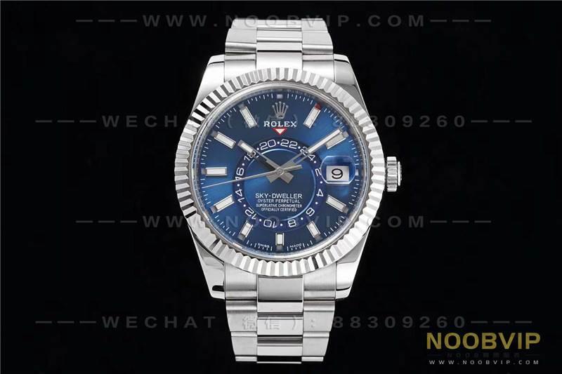 N厂新品Rolex劳力士Sky-Dweller天行者复杂腕表评测
