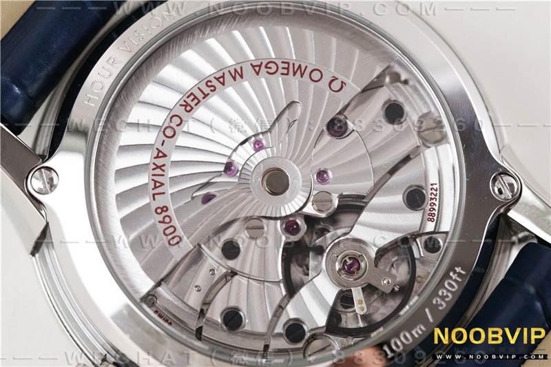 VS厂欧米茄蝶飞明亮之蓝「8900机芯」复刻表评测