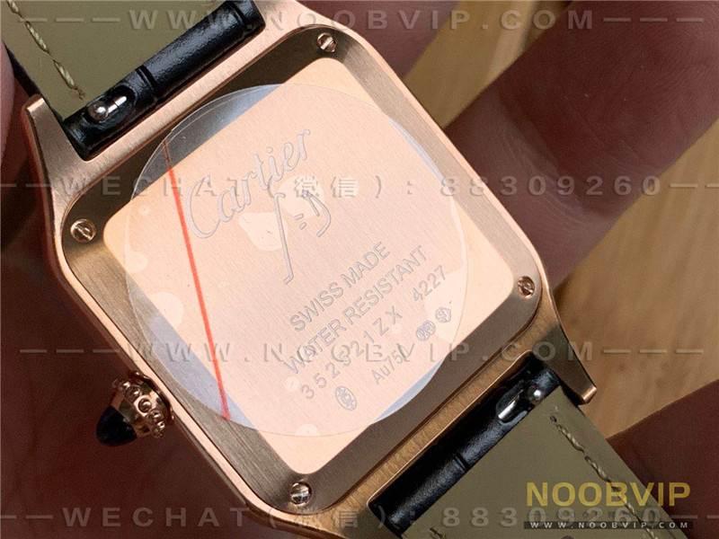 EG厂卡地亚山度士SANTOS-DUMONT系列WSSA0022情侣复刻表评测