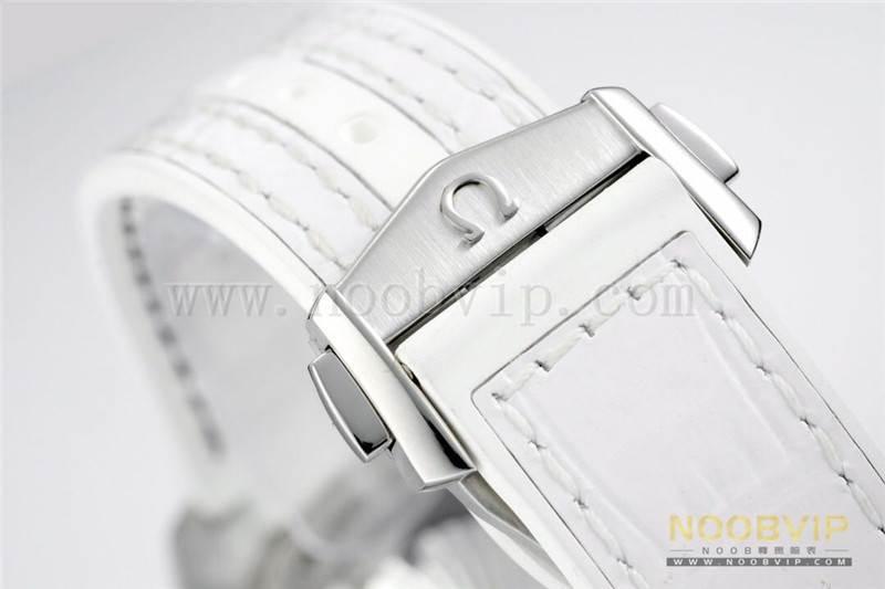 VS厂欧米茄海马600女士39.5mm腕表评测白盘