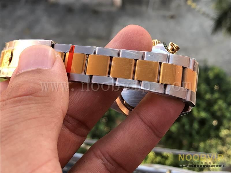 N厂劳力士迪通拿间金m116503-0003腕表实拍评测