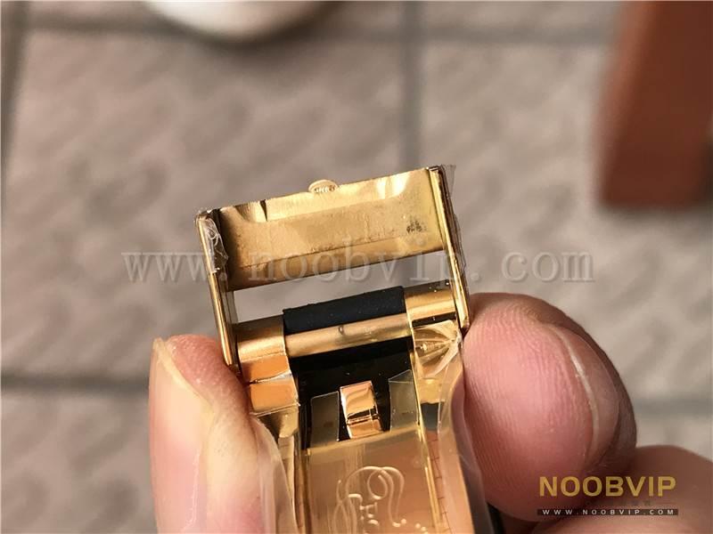 N厂劳力士迪通拿m116518ln-0042金盘胶带腕表实拍评测插图38