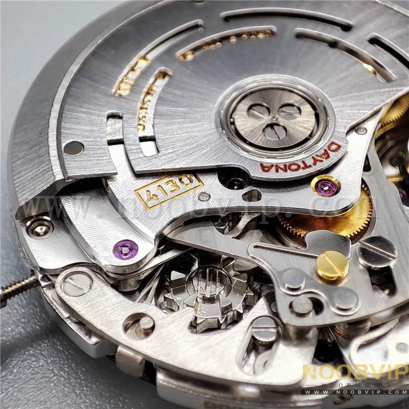 N厂劳力士迪通拿m116518ln-0042金盘胶带腕表实拍评测插图40