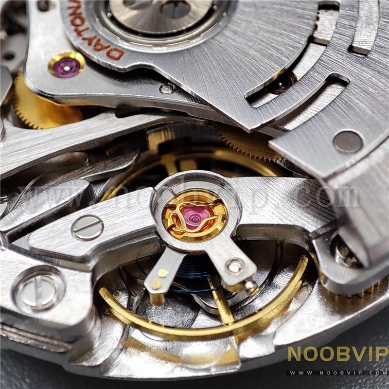 N厂劳力士迪通拿m116518ln-0042金盘胶带腕表实拍评测插图42