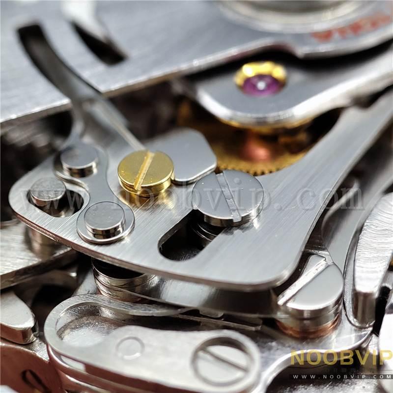 N厂劳力士迪通拿m116518ln-0042金盘胶带腕表实拍评测插图48