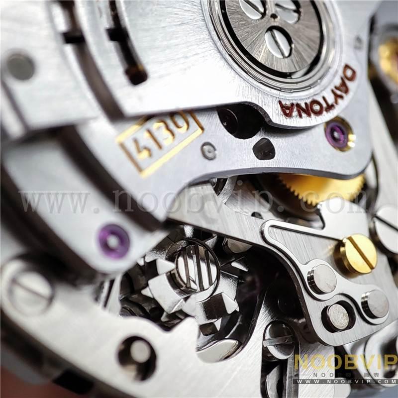 N厂劳力士迪通拿m116518ln-0042金盘胶带腕表实拍评测插图50