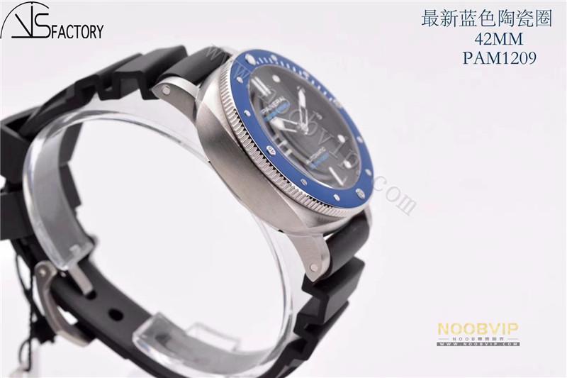 VS厂沛纳海pam1209小蓝鬼腕表评测