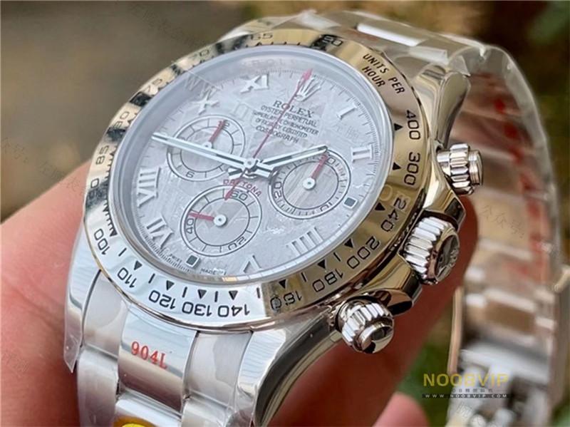 N厂劳力士迪通拿116519真陨石面腕表,N厂4130机芯