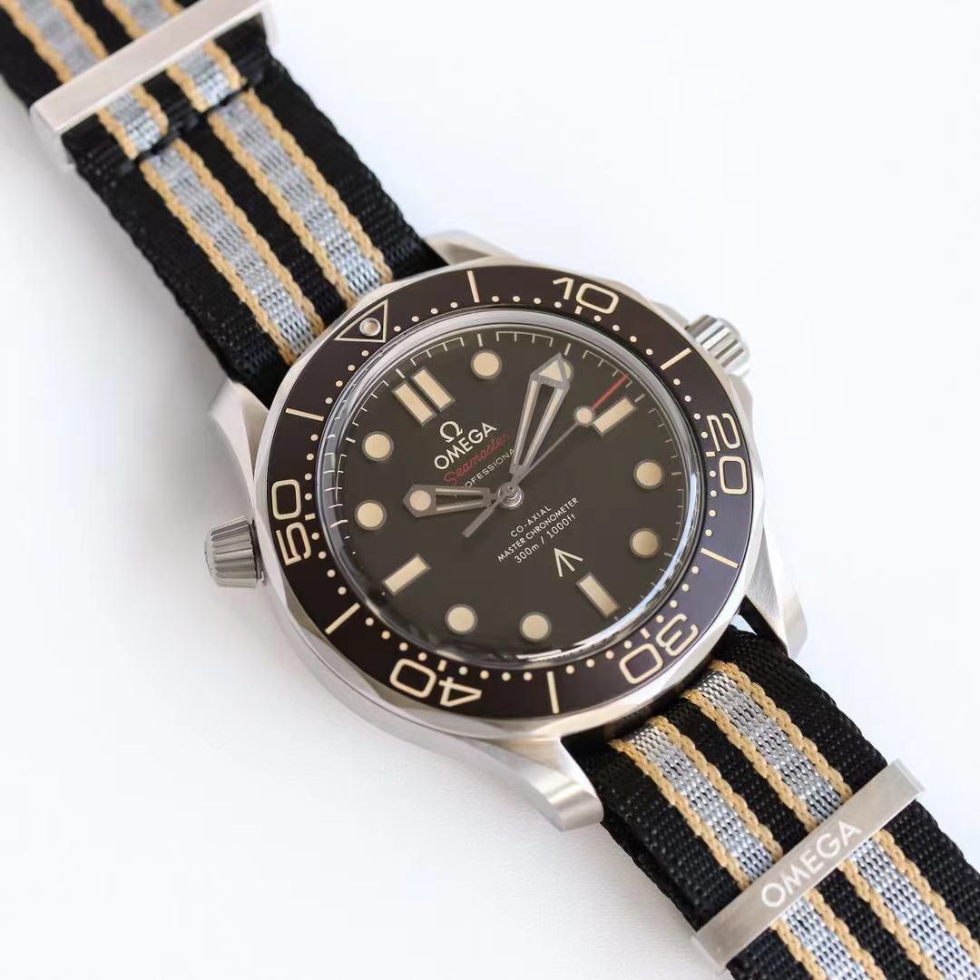 OR厂欧米茄海马300米007钛壳腕表